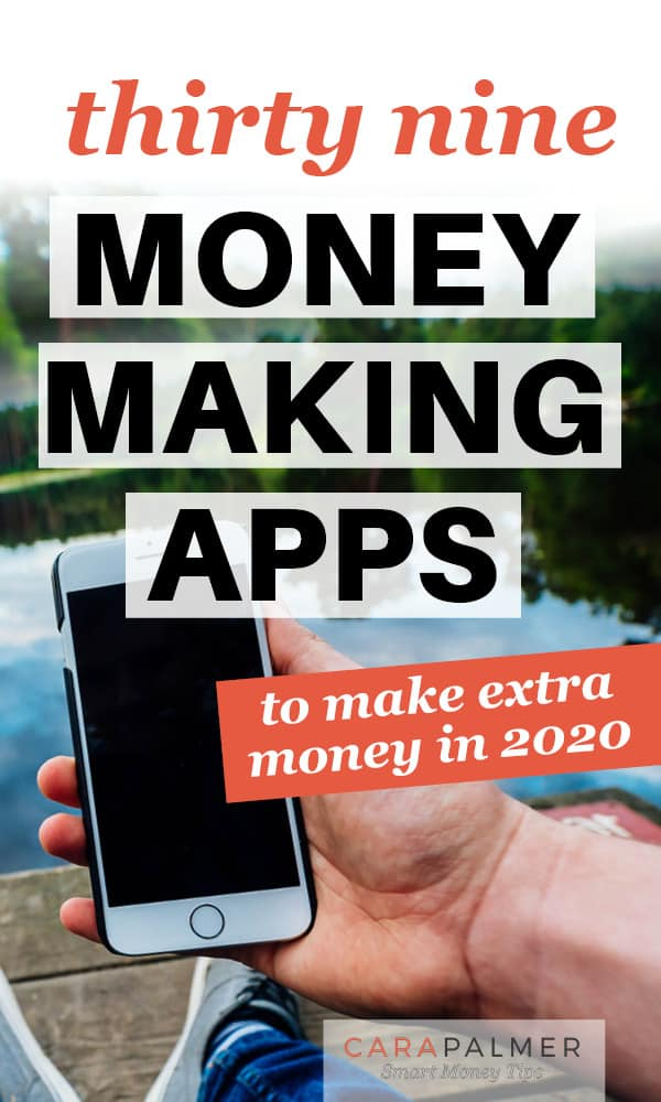 The best apps to make money from home
