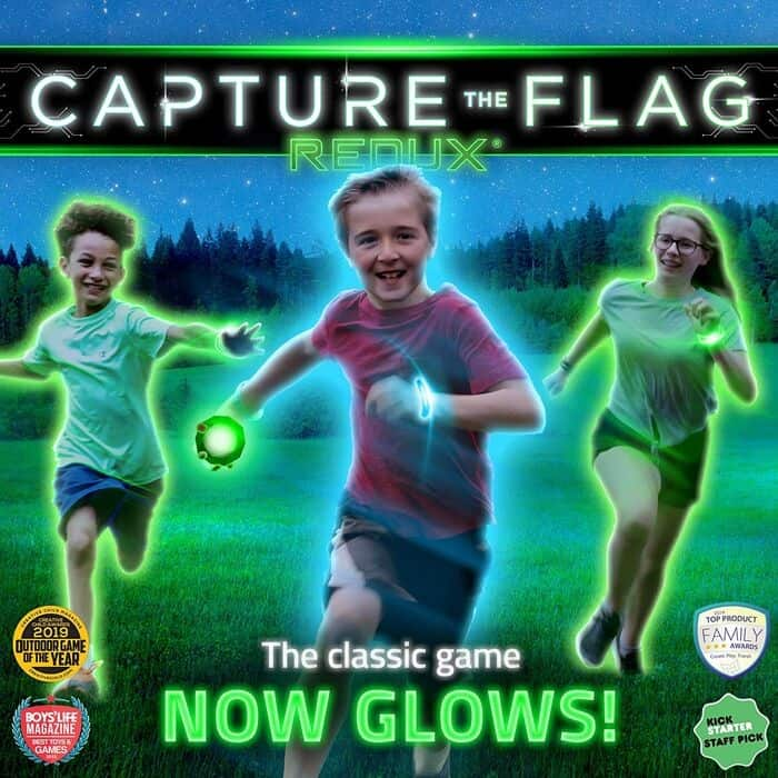 capture the flag is a great teen boy gift