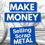 a bike that could be sold for scrap metal