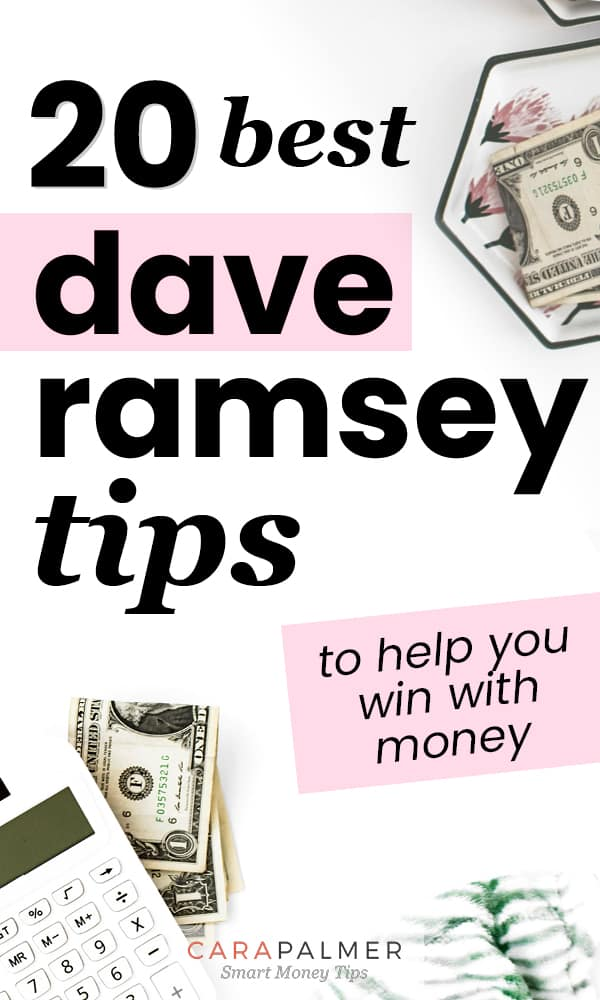 Use The Dave Ramsey Tips To Win With Your Money