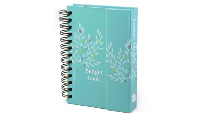 Boxclever Press Budget Book - Bill Organizer with Pockets. Monthly Planner with Expense Tracker to Manage Personal Finance. Undated Budget Planner Organizer for Cash Flow, Bills & More. 7'' x 5.3'
