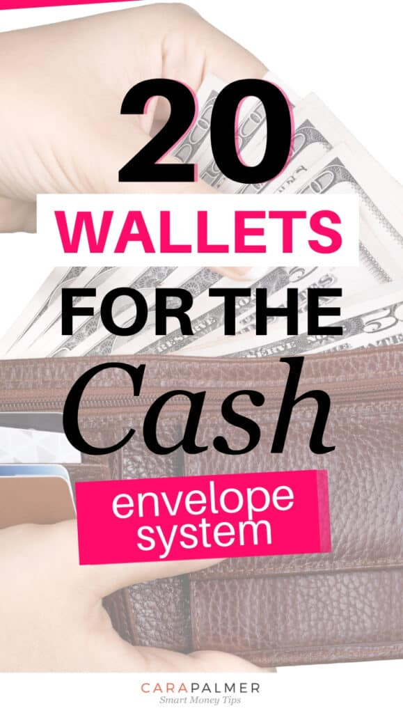 Wallets to be used in the cash envelope system.