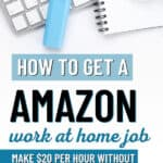 Make Money Working From Home For Amazon