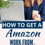 Find a work at home Amazon job today