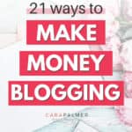 how do bloggers get paid to blog