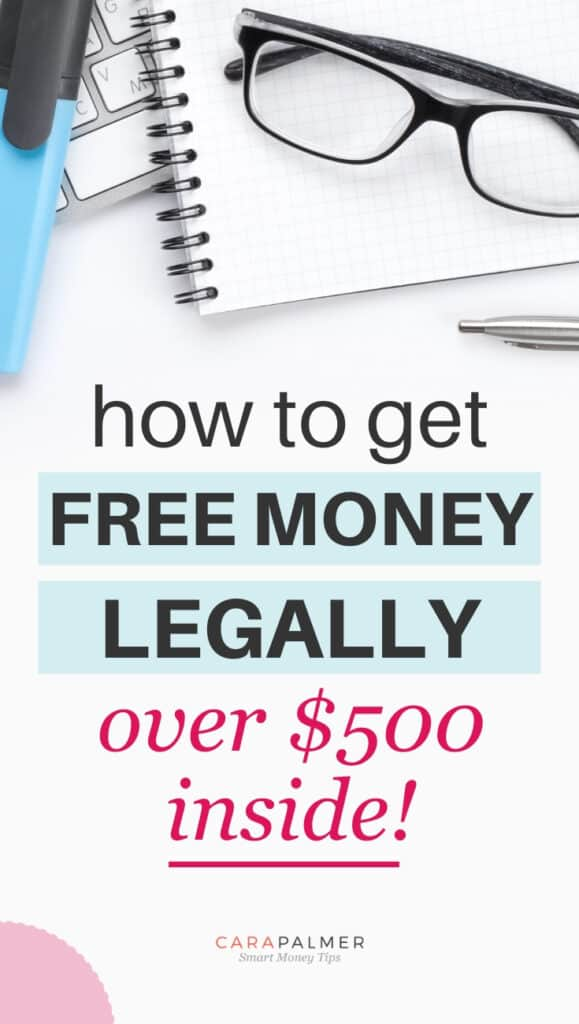 Learn how to get free money from various sources