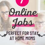 remote jobs for stay at home moms