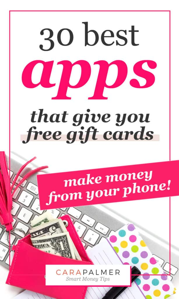 Get free gift cards with one of these great apps