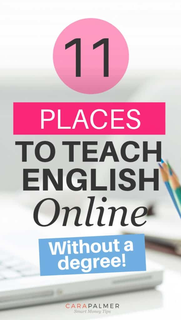 places to teach english online without degree