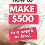 how to earn 500 per day or week