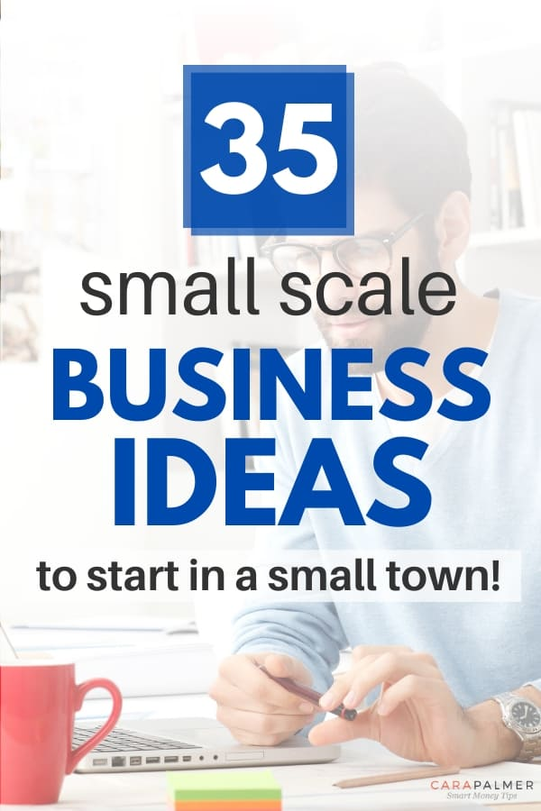 good businesses for small towns