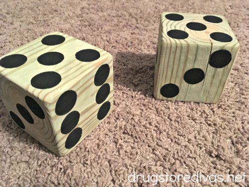 lawn dice is most profitable wood crafts to sell