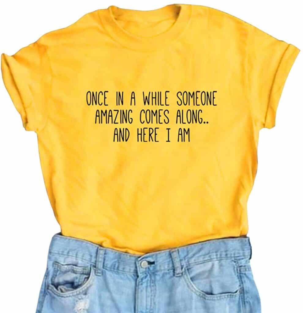 funny t-shirt presents for 12 year olds