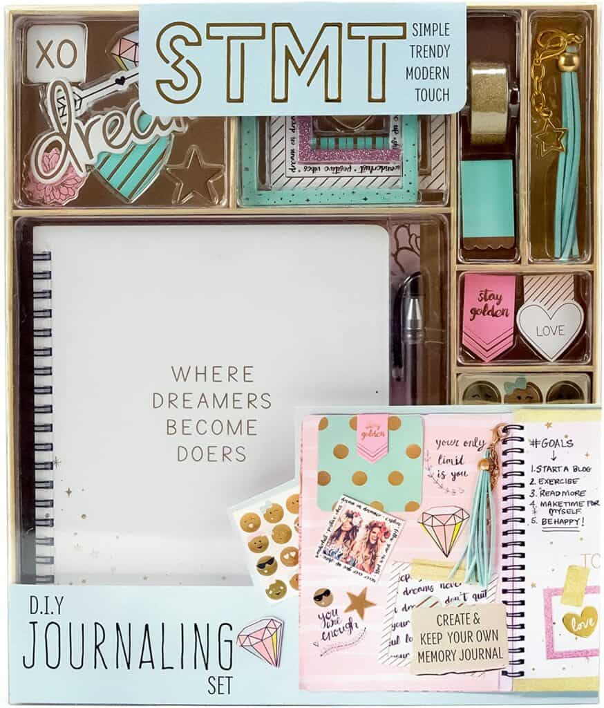 journaling set christmas gifts for 12 year old girls
