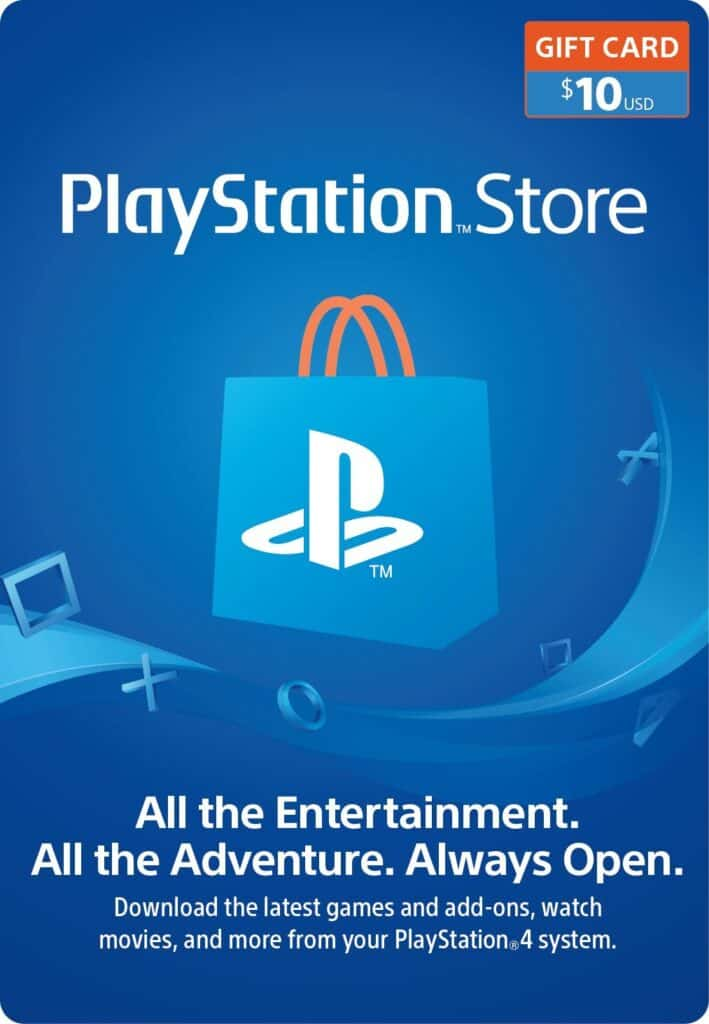 playstation gift card for girls and boys