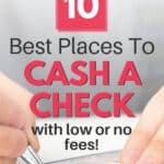 where can i cash a personal check besides a bank without fees