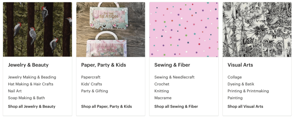 best selling etsy crafts and supplies