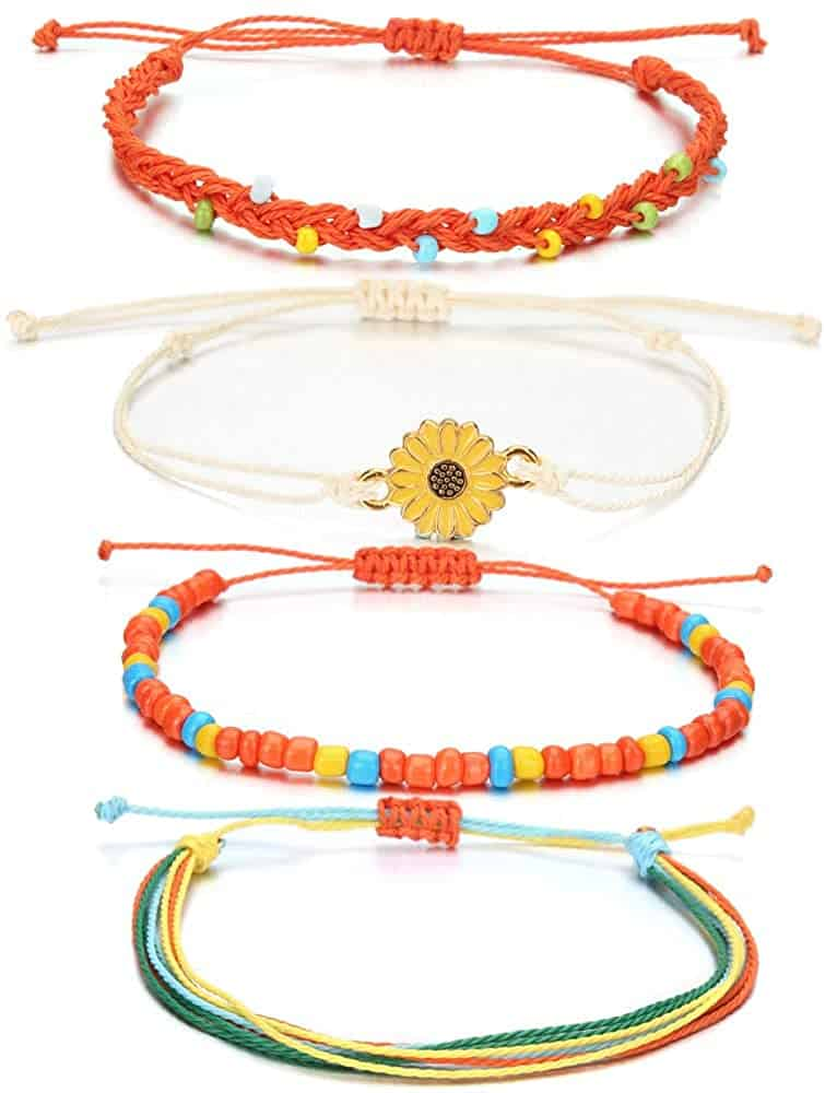 4 styles of bracelets to sell