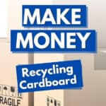 3 boxes of cardboard recycling for money near me
