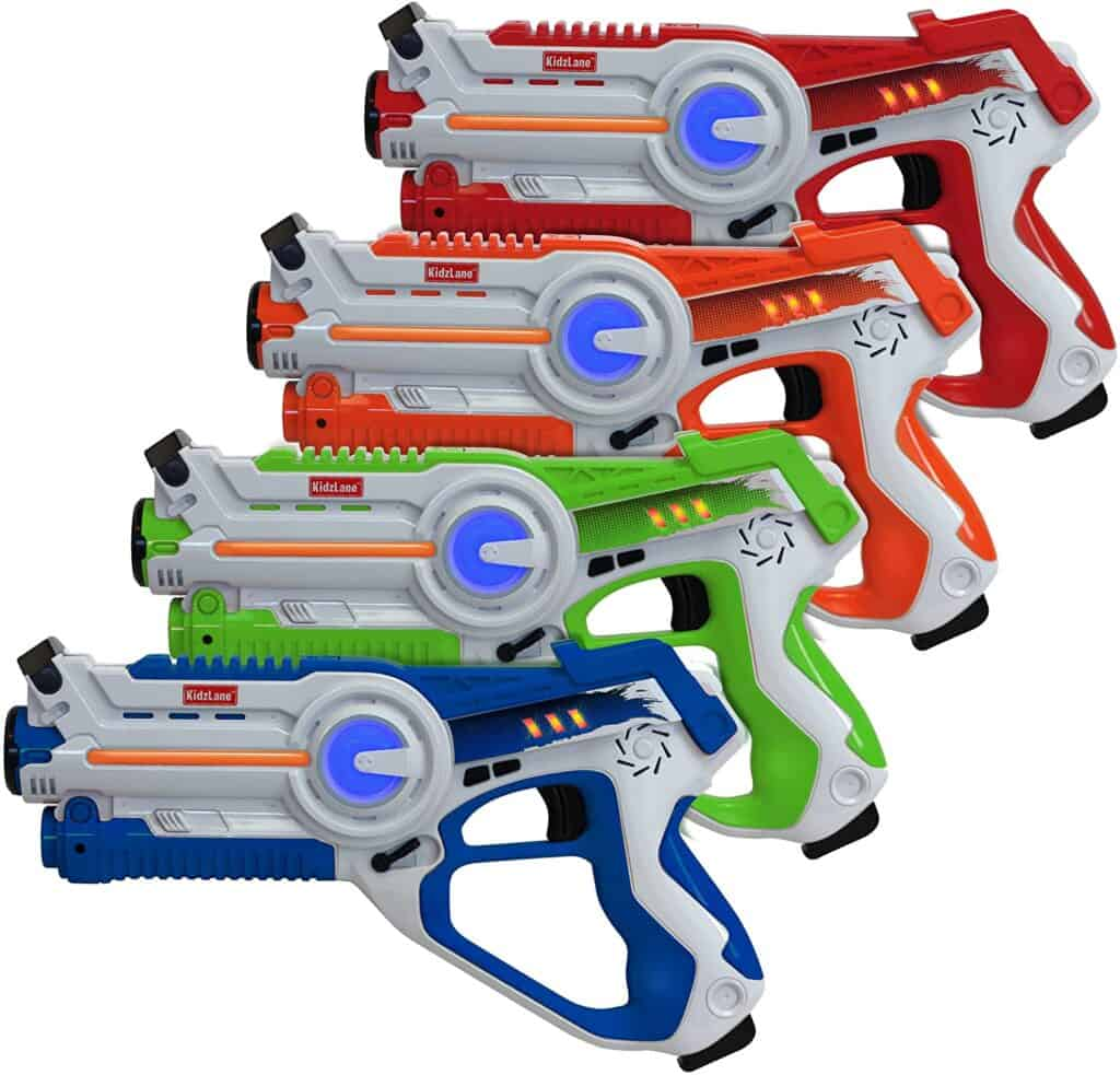 guns for laser tag to have fun at night