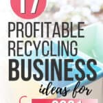 3 bins for recycling business ideas