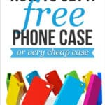completely free iphone cases in a variety of colors