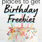 get a free dessert like this cake on your birthday