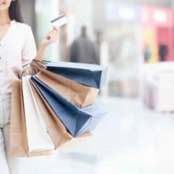 woman working for a mystery shopping company