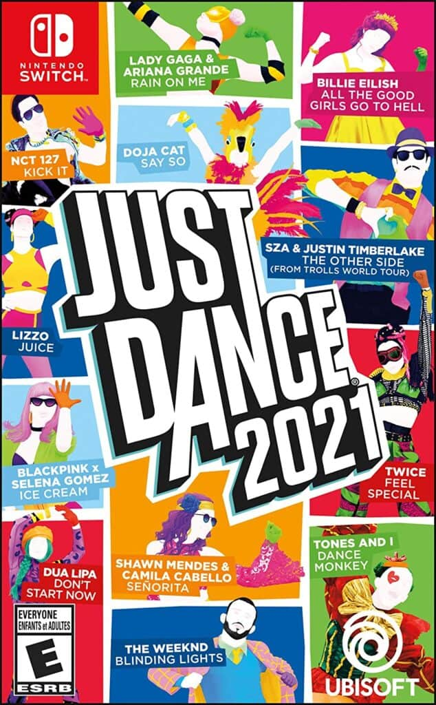 just dance video game for 12 year old girls