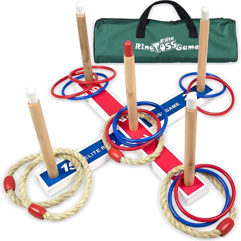 ring toss game with case